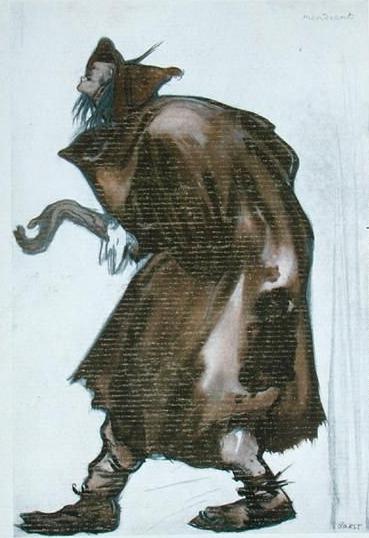 L'oisel emplumé, un conte de Grimm