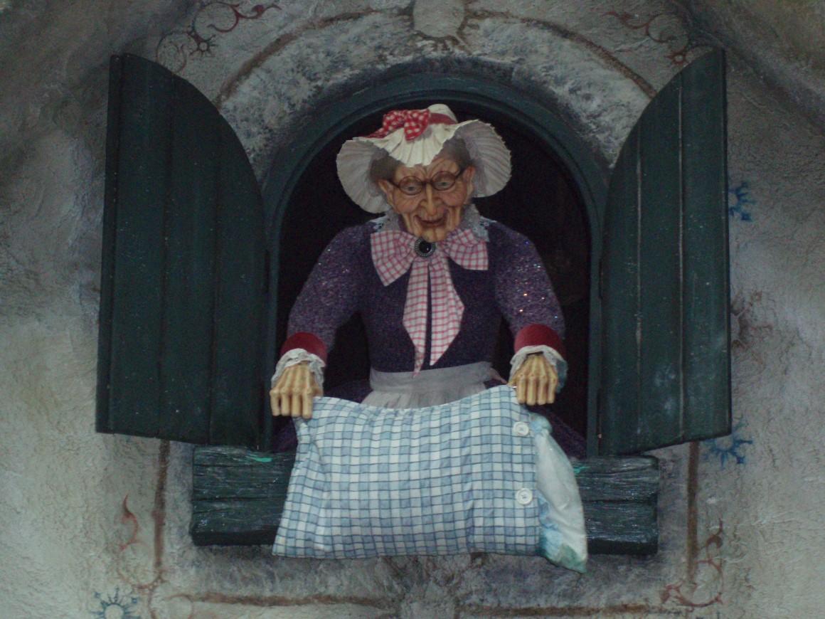 La dame Hollé, un conte de Grimm