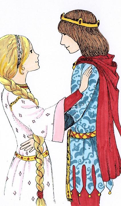 La fille du roi et la grenouille, un conte de Grimm