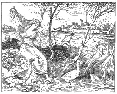 La petite gardeuse d'oies, un conte de Grimm