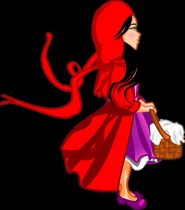 Le petit chaperon rouge, un conte de Grimm