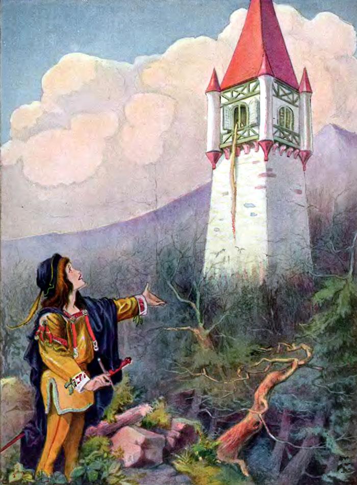Raiponce, un conte de Grimm
