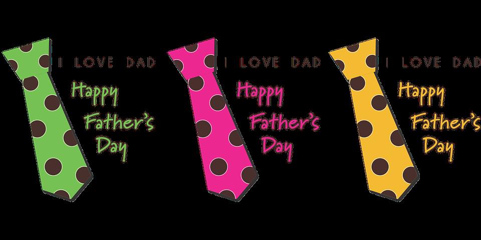 Une carte pour la fête des pères, bonne fête papa