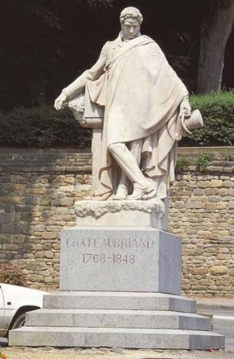 Francois ren de chateaubriand histoire et biographie de for Statut ecrivain