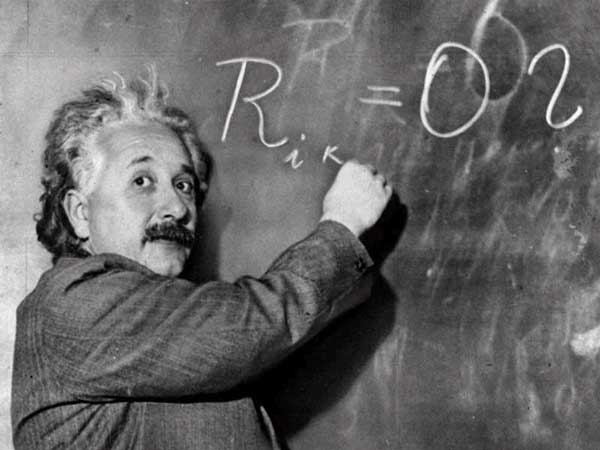 Le physicien Albert Einstein