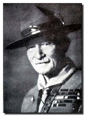 Baden powell fondateur du scoutisme