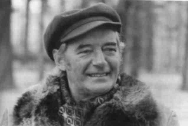 Le chanteur Félix Leclerc