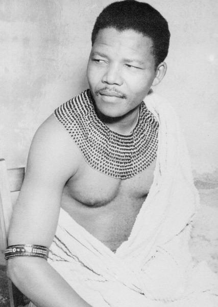Nelson Mandela jeune