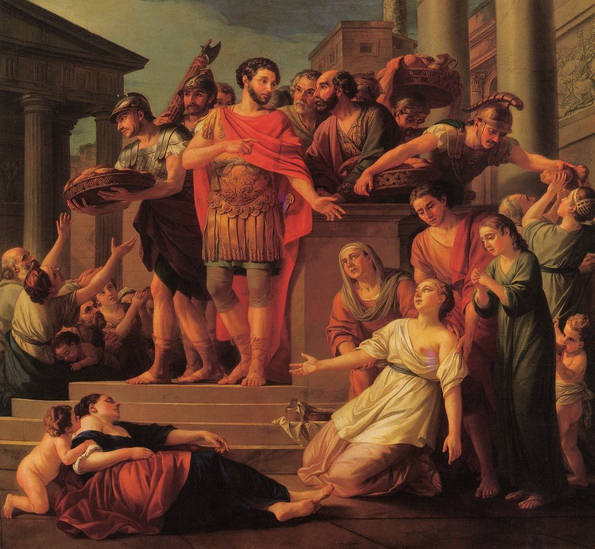Marc Aurèle à Rome