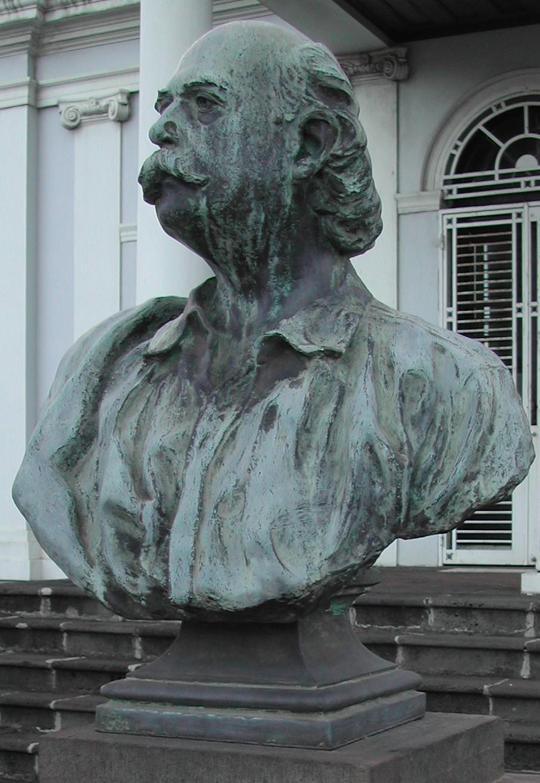 Buste de Léon Dierx