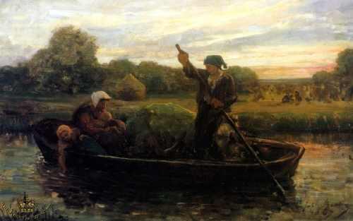 Tableau de Jules Breton