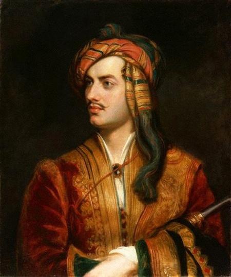 Lord Byron histoire et biographie de Lord Byron
