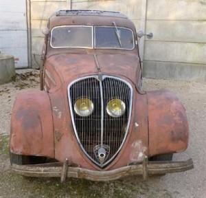 PEUGEOT 402 LT 1936 : Le taxi star