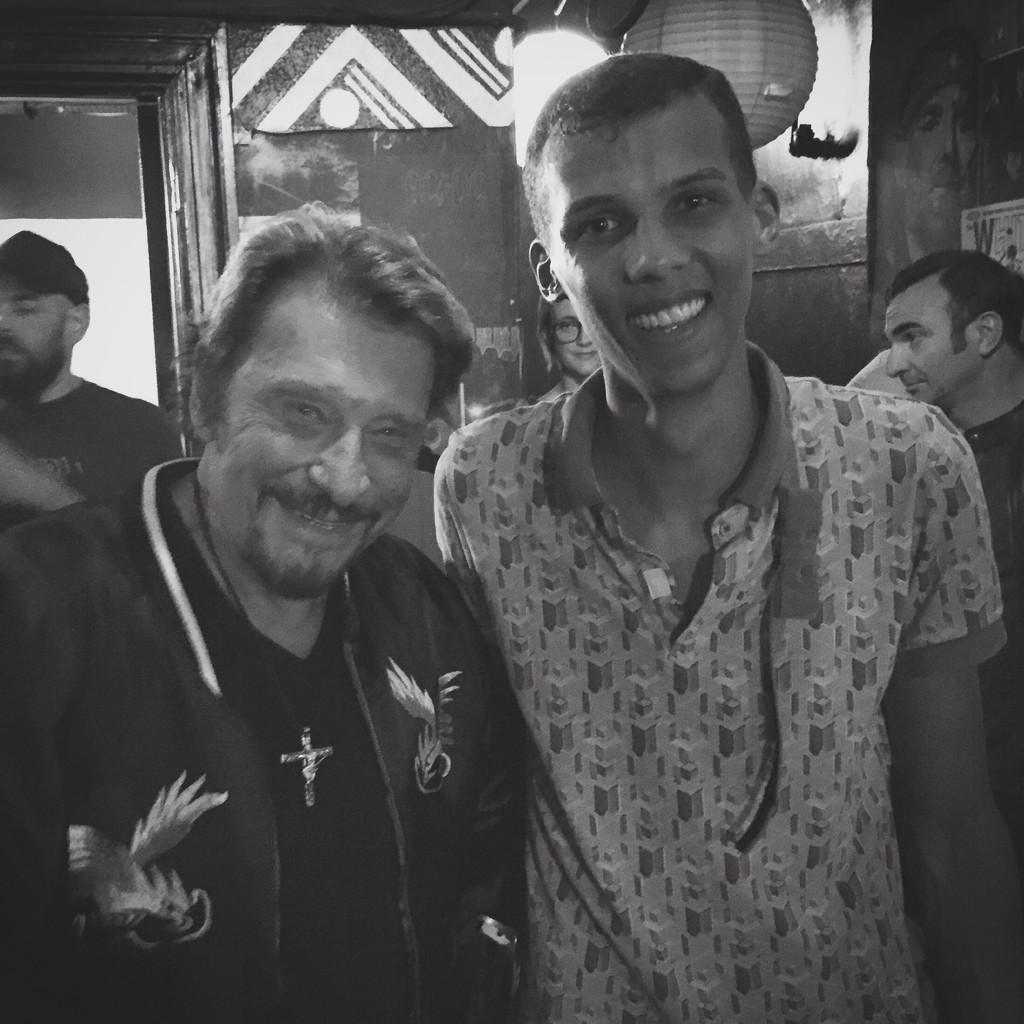 Johnny et Stromae