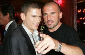 Wentworth Miller et Dominic Purcell
