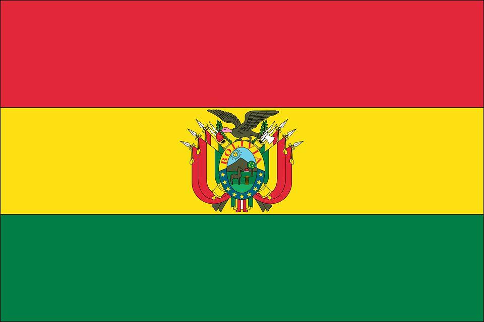 Drapeau Bolivie - Le drapeau bolivien