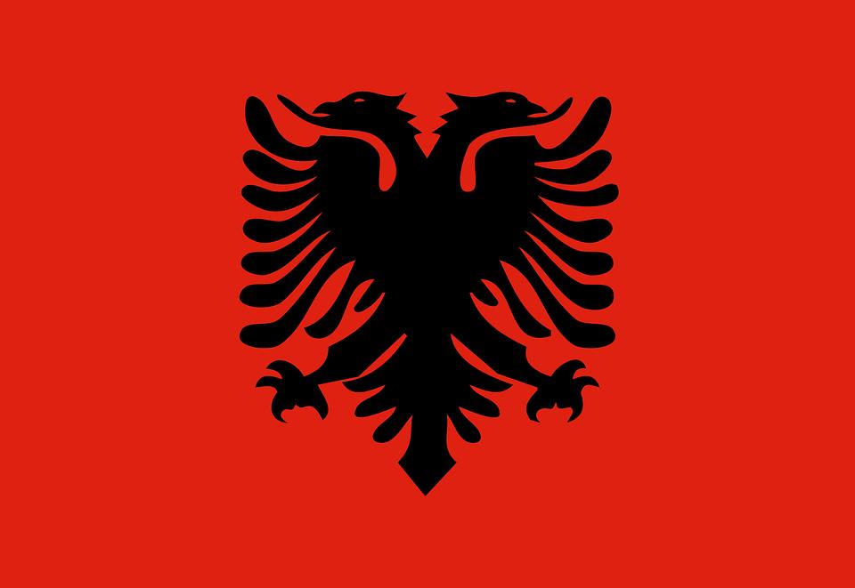 Drapeau Albanie – le drapeau albanais