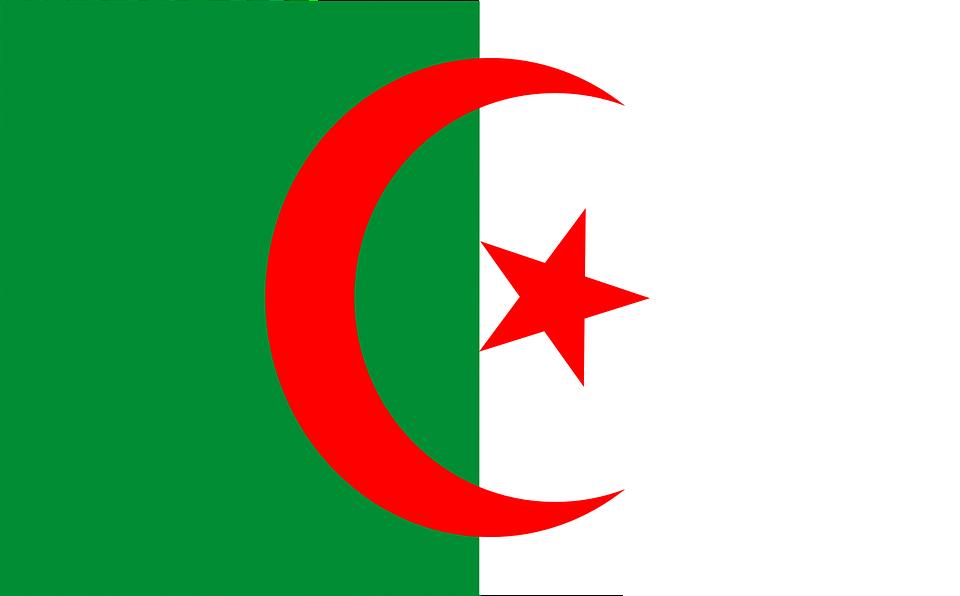Drapeau Algérie - Le drapeau algérien