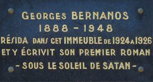plaque-georges-bernanos