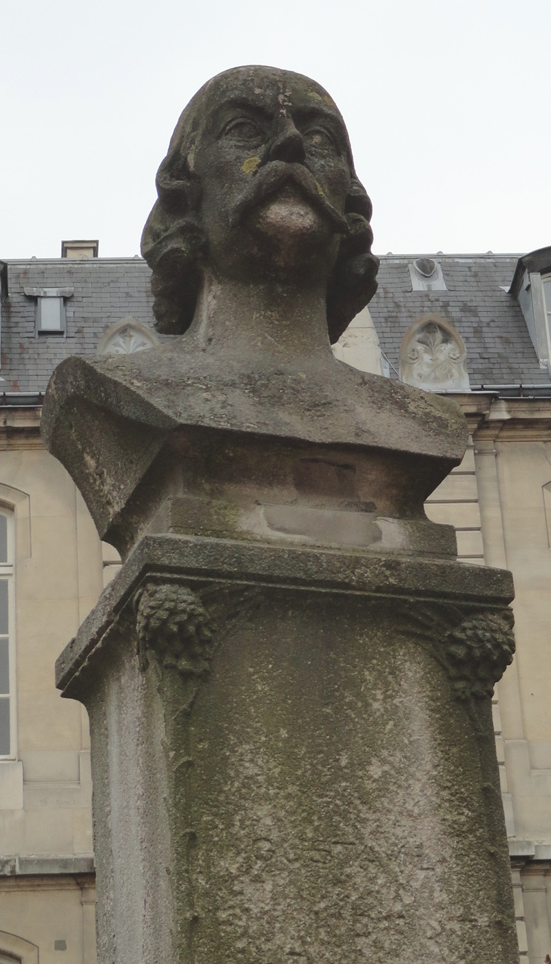 Statue de Gustave Flaubert