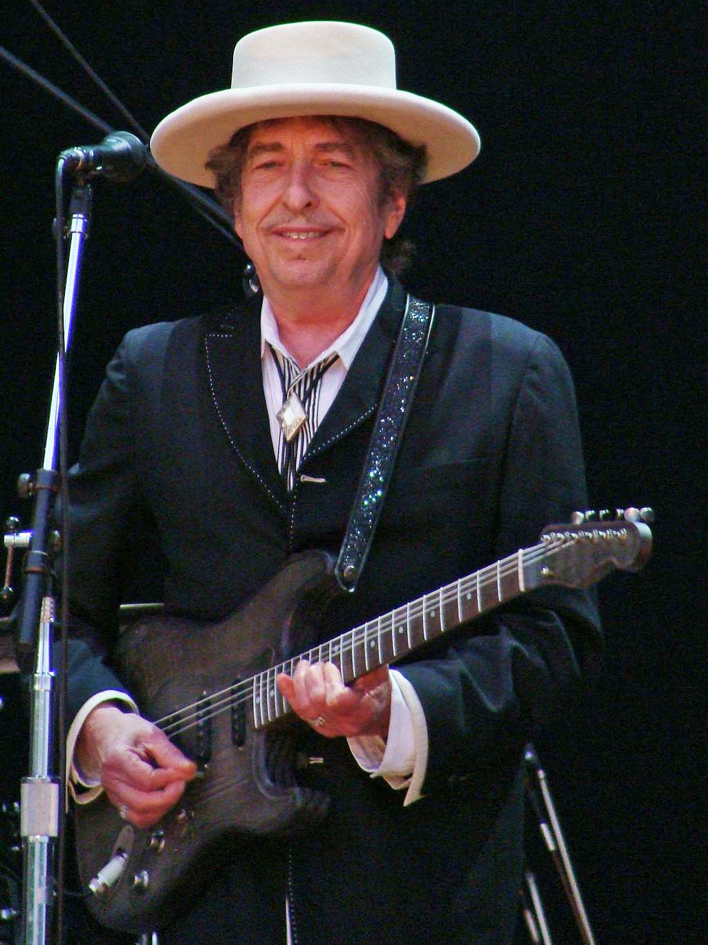 Bob Dylan, lauréat du Prix Nobel de Littérature 2016