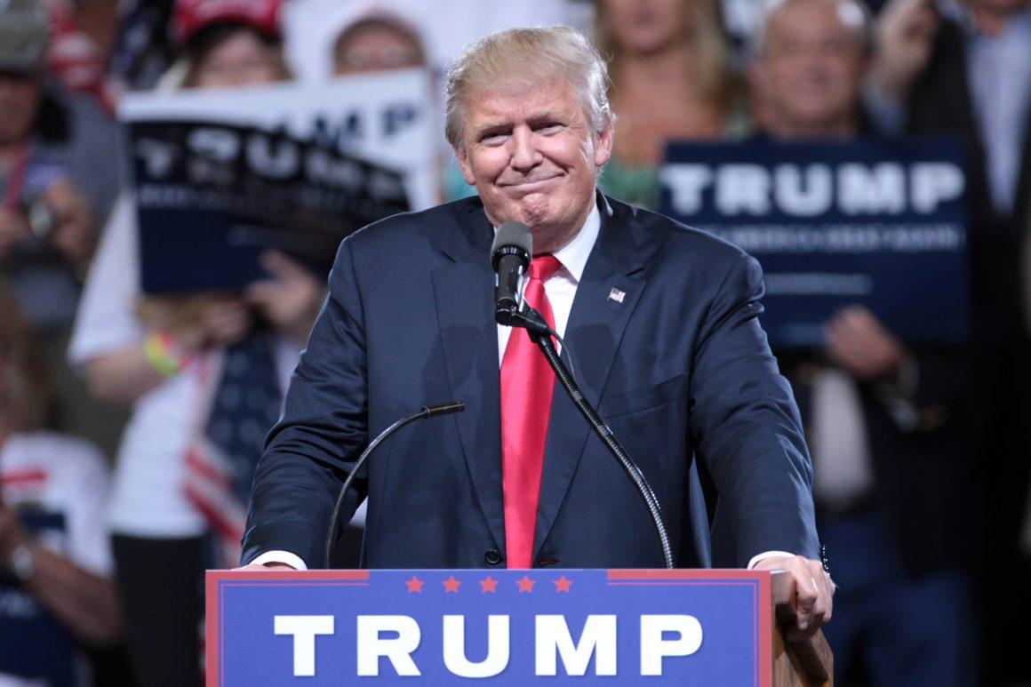 Donald Trump durant la campagne présidentielle 2016