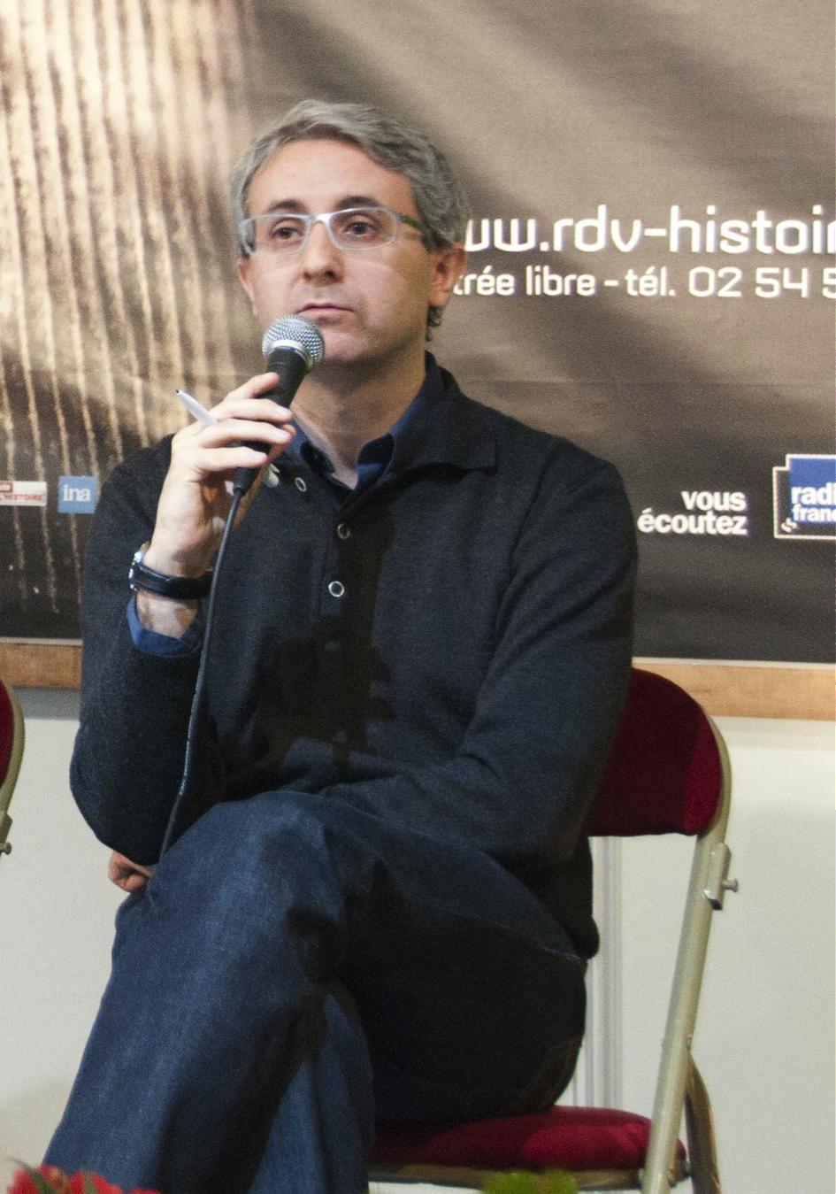 Ivan Jablonka, lauréat du Prix Médicis 2016
