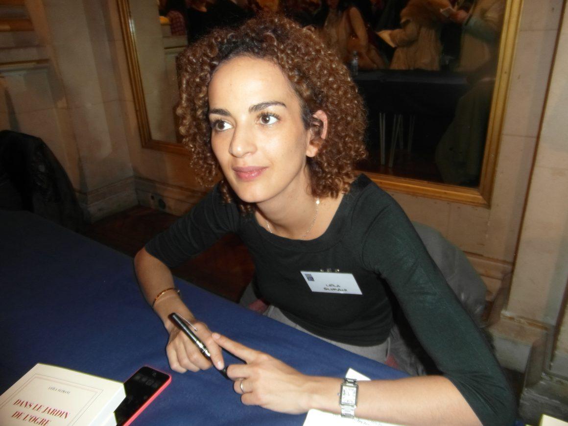 Leïla Slimani, lauréate du Prix Goncourt 2016