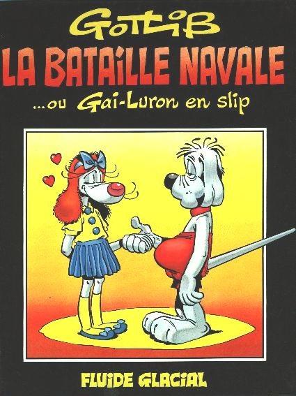 Le gai-luron en slip, un BD de Marcel Gotlib