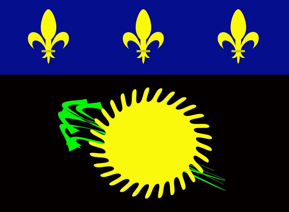 Drapeau Guadeloupe - Le drapeau guadeloupéen