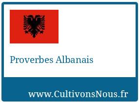 Proverbes Albanais