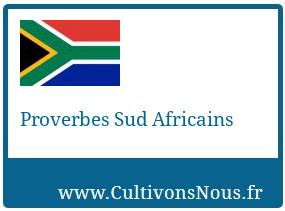 Proverbes Sud Africains
