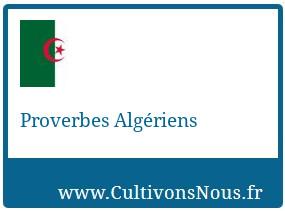 Proverbes Algériens