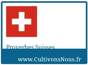 Proverbes Suisses