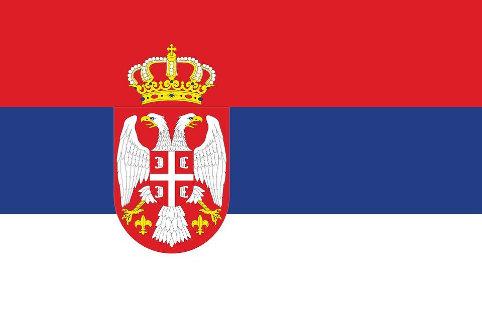 Drapeau Serbie - Le drapeau serbe