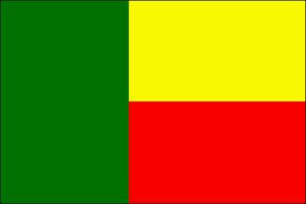 Drapeau Bénin - Le drapeau béninois