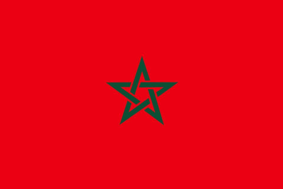 Drapeau Maroc - Le drapeau marocain