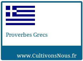 Proverbes Grecs