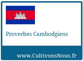 Proverbes Cambodgiens