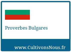 Proverbes Bulgares