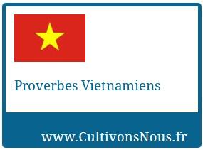 Proverbes Vietnamiens