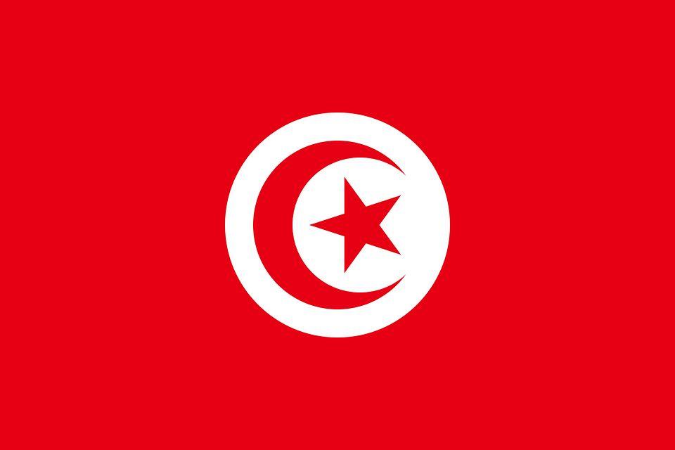 Drapeau Tunisie - Le drapeau tunisien