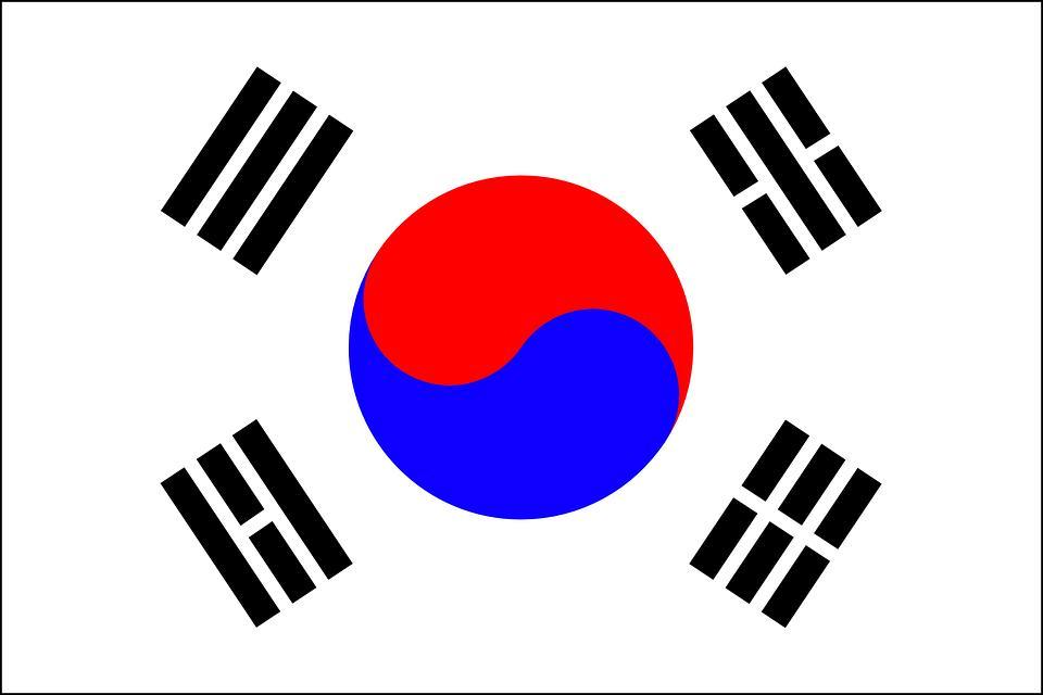 Drapeau Corée - Le drapeau coréen