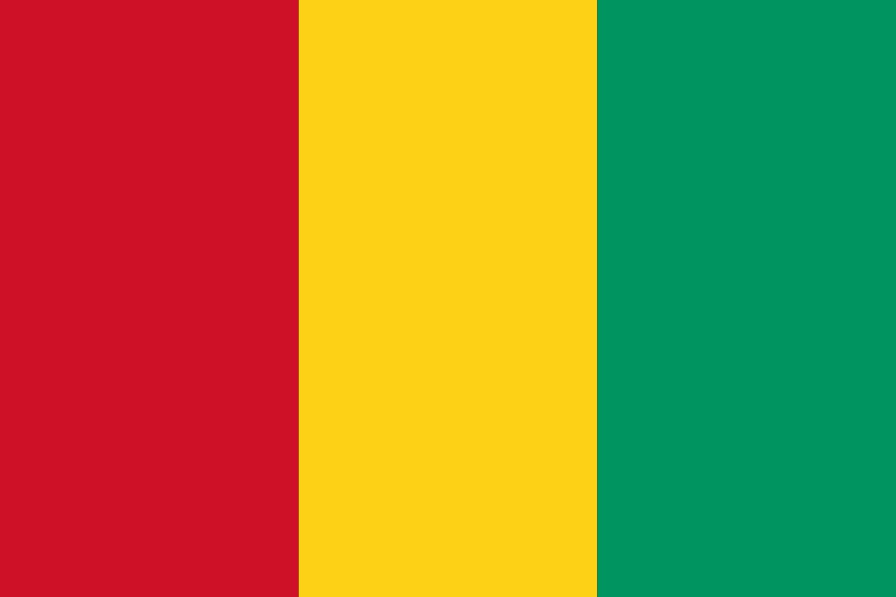 Drapeau Guinée - Le drapeau guinéen