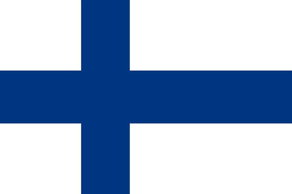 Drapeau Finlande - Le drapeau finlandais
