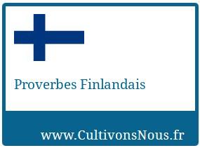 Proverbes Finlandais
