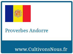Proverbes Andorre