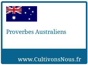 Proverbes Australiens