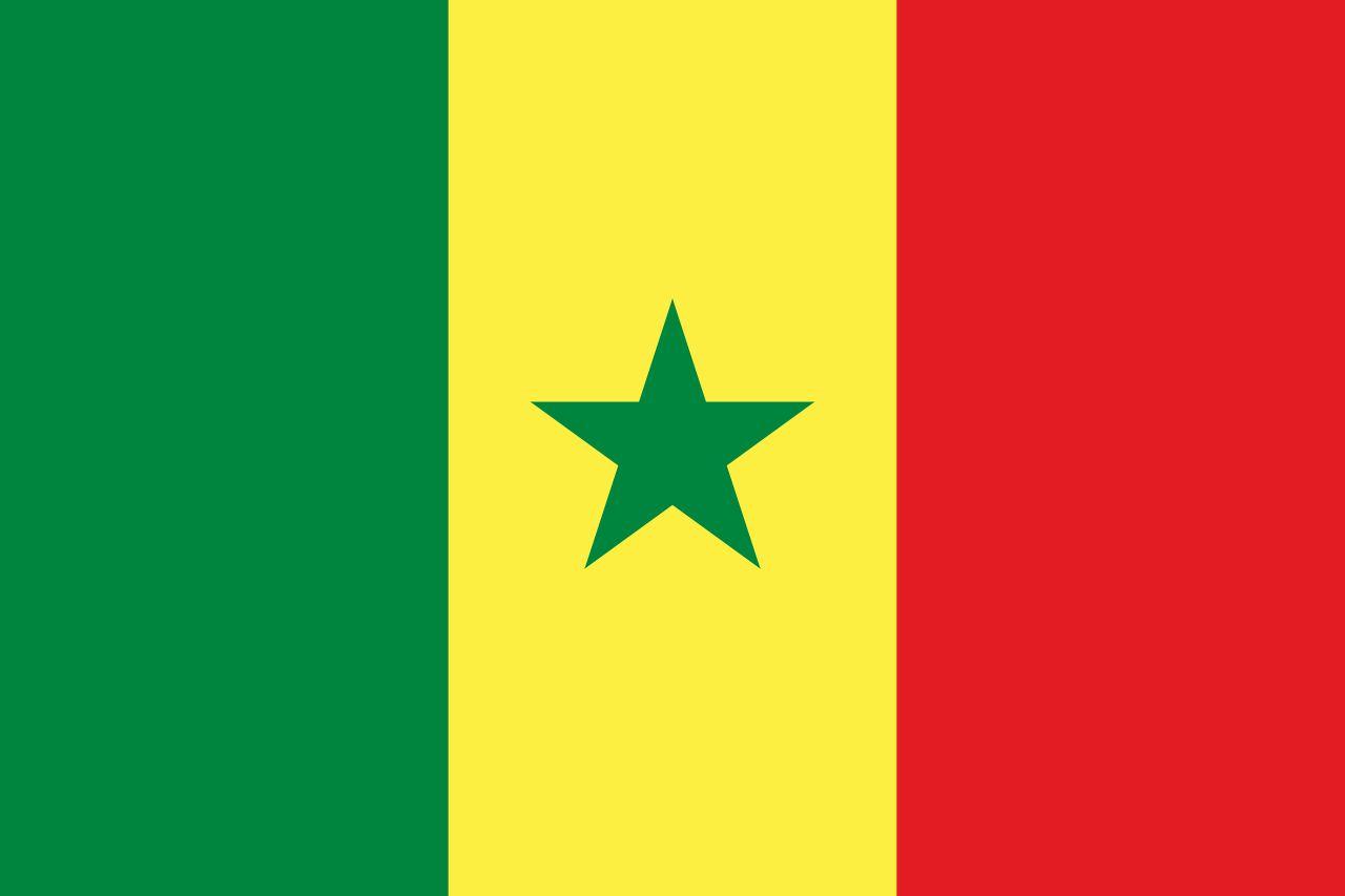 Drapeau Sénégal - Le drapeau sénégalais