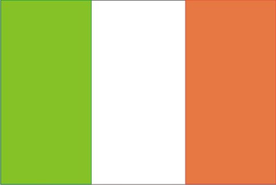 Drapeau Irlande - Le drapeau irlandais
